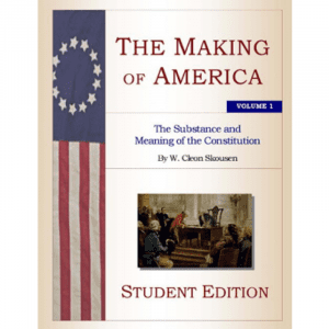 The Making of America Volume 1 – Student Edition