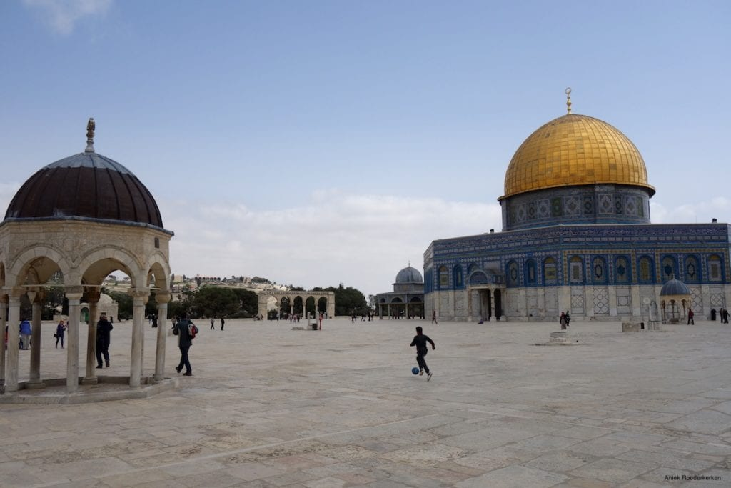 Rock-dome-on-the-Temple-Mount-in-Jerusalem-Israel
