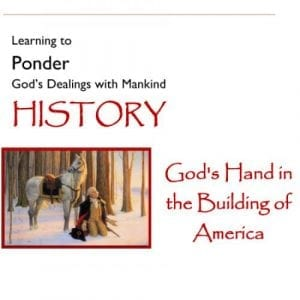 God's Hand in the Building of America – Volume 1
