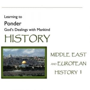 Hook Dates of the Middle East & European History – Volume 1
