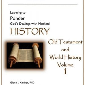 Hook Dates of the Old Testament and World History – Volume 1